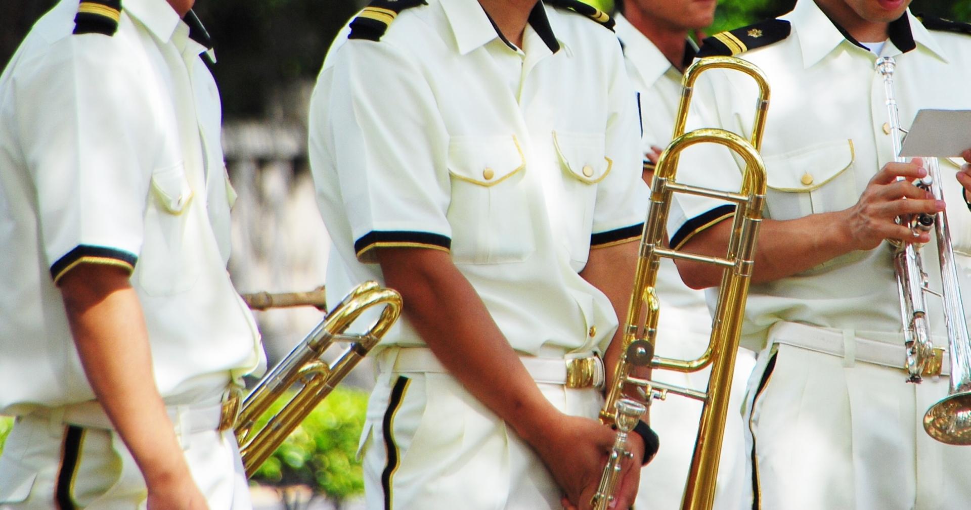 吹奏楽団の写真